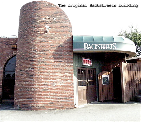 Original Backstreets building